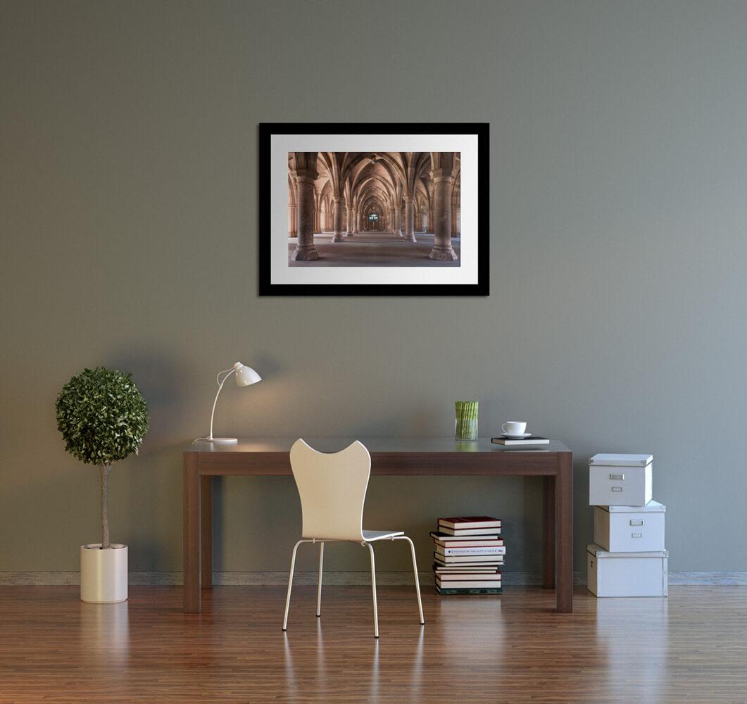 cloister study room rendering