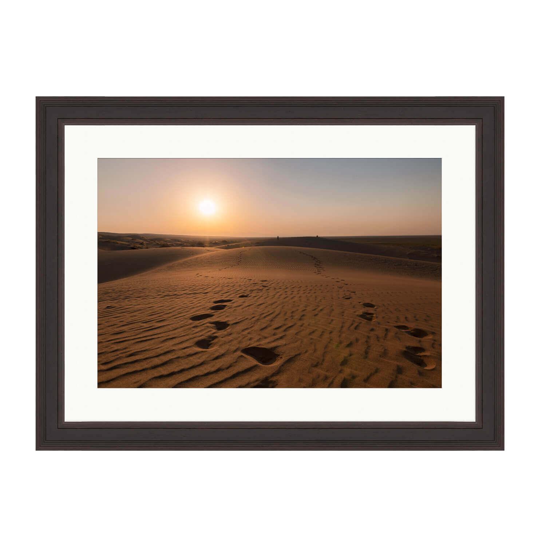 desert rose ash frame mockup