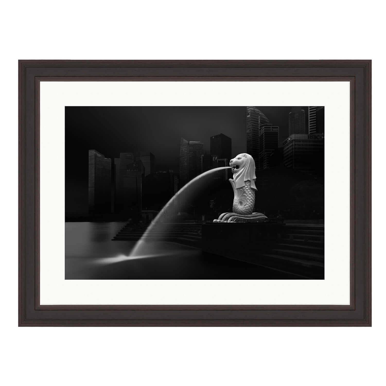 merlion ash frame mockup