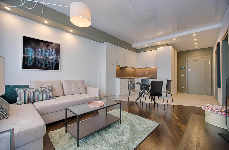 tron frame rendering living room