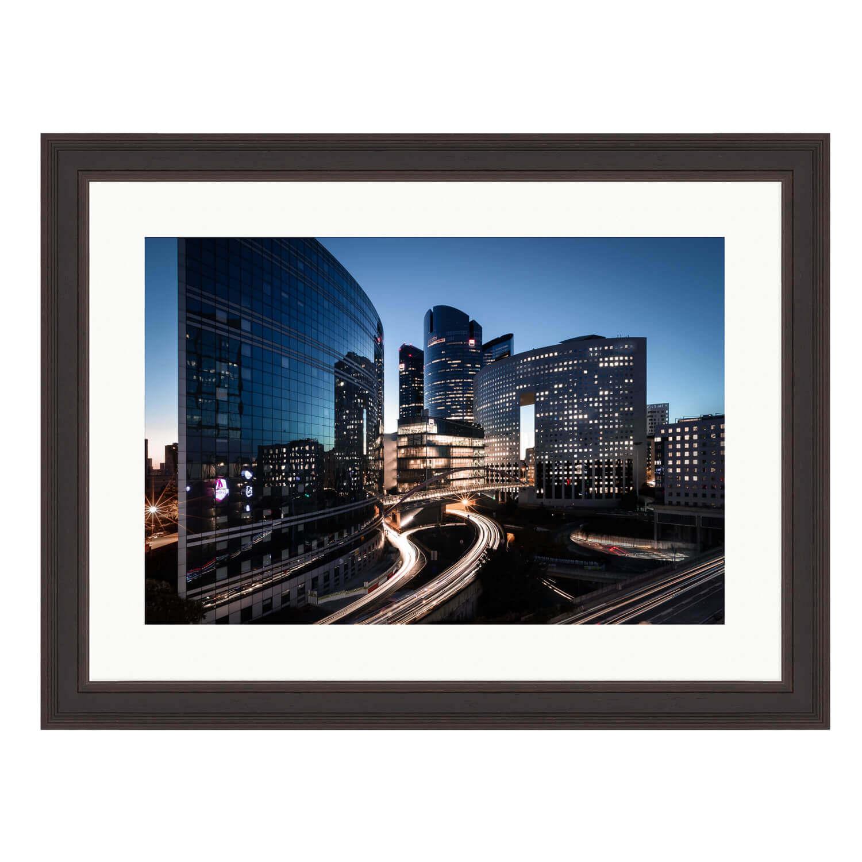 city of light ash frame mockup