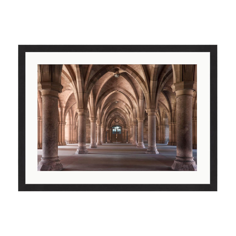 glasgow cloister box frame mockup