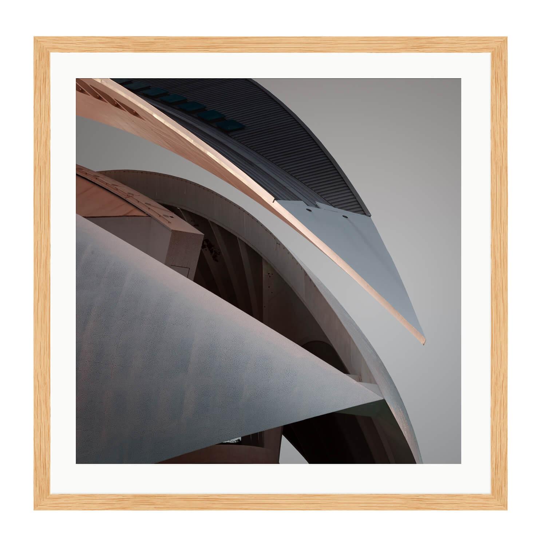 compsure wooden box frame mockup