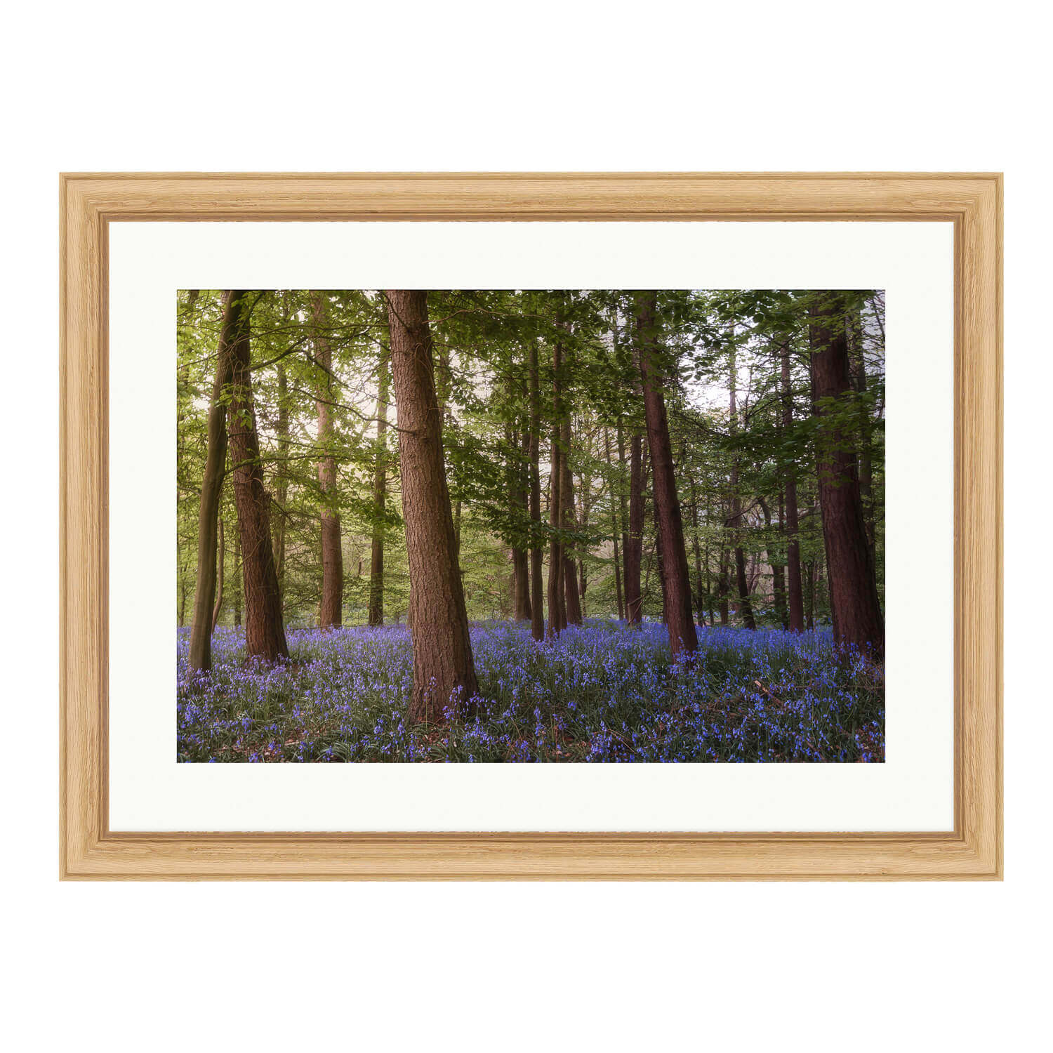 enchanted bare wood frame mockup