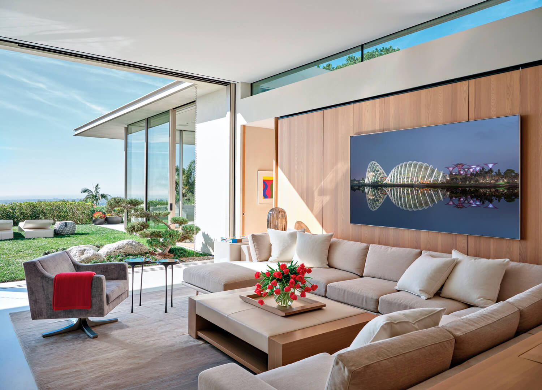 hanging garden interior frame rendering