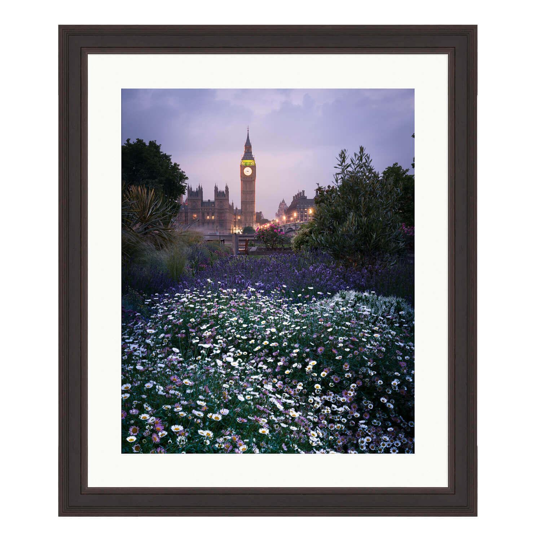 london in spring ash frame mockup