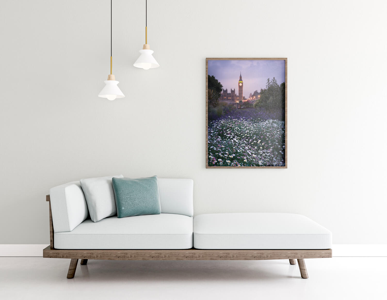 london in spring frame rendering