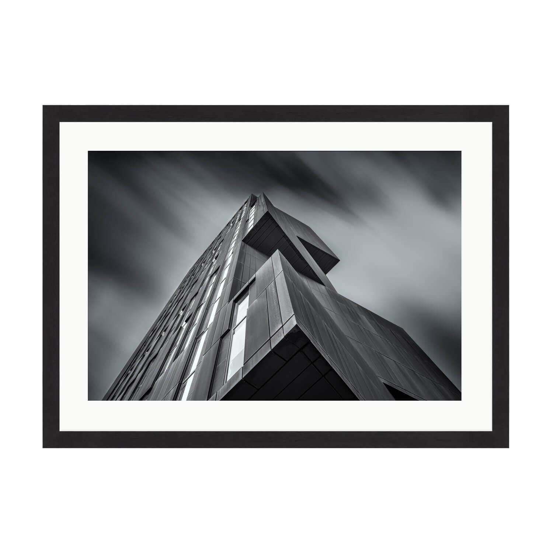 perspective box frame mockup