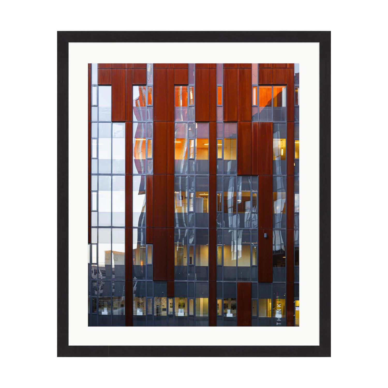 reflexion box frame mockup