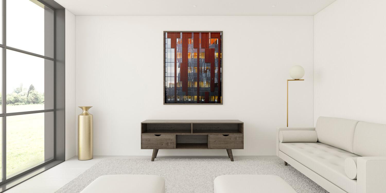 reflexion interior frame rendering