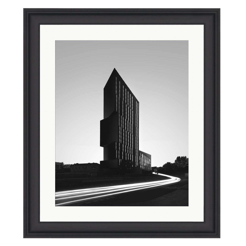 timeless black frame mockup