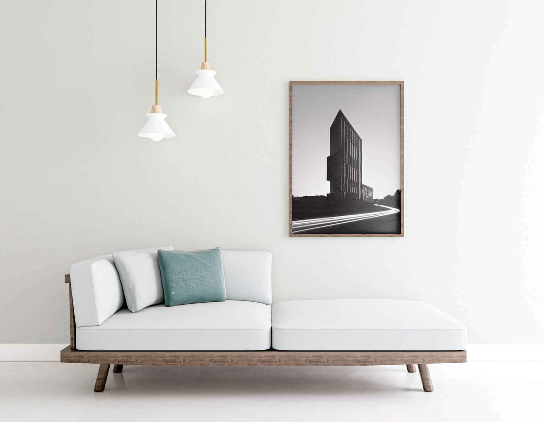 timeless interior frame rendering