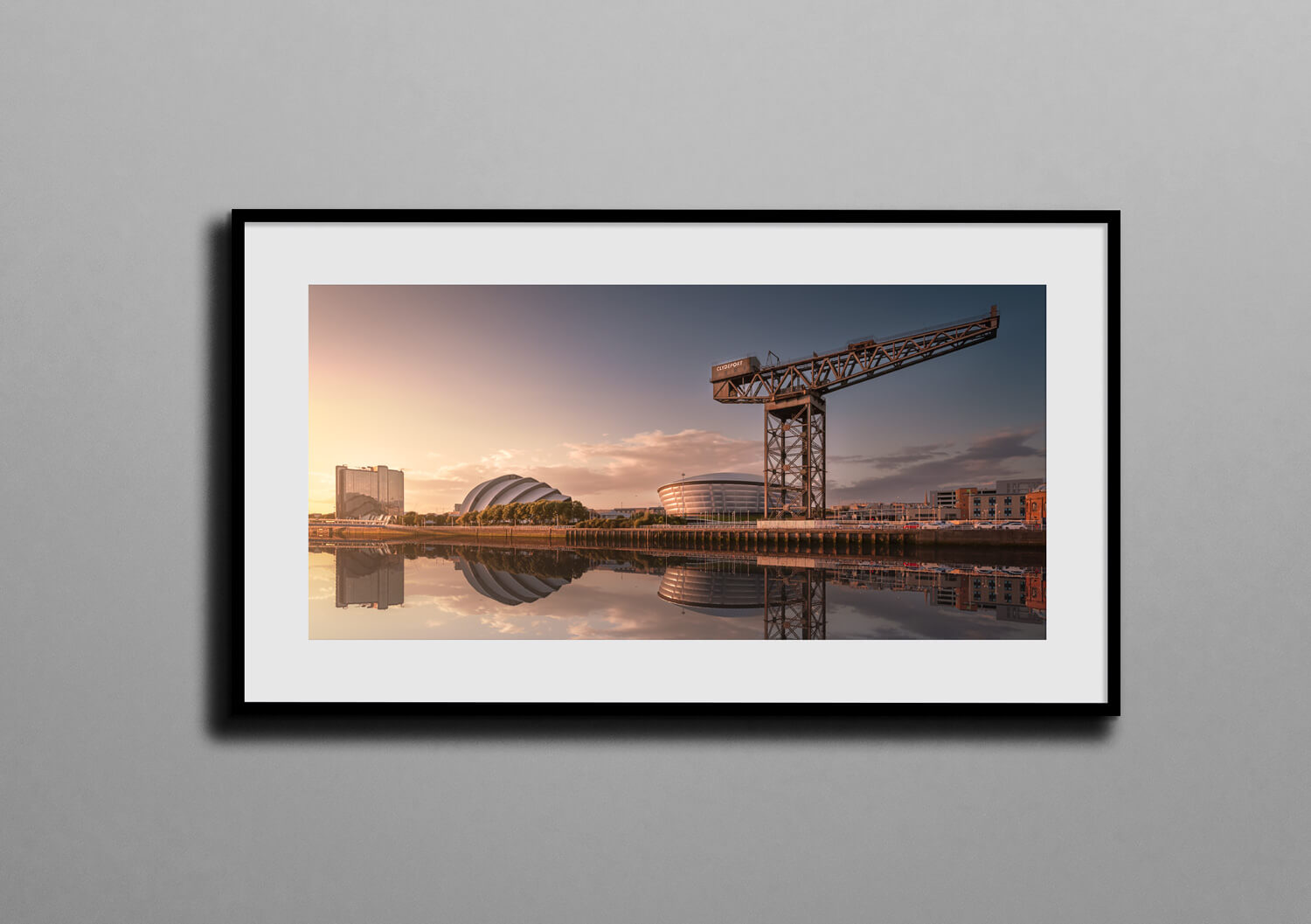 titans of the clyde box frame mockup